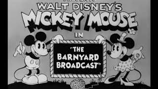 Mickey Mouse - The Barnyard Broadcast - 1931