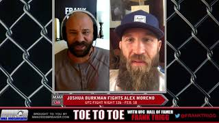 Frank Trigg pre-fight interview with UFC Austin's Josh Burkman