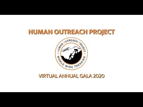 Human Outreach Project — Annual (Virtual) Gala 2020