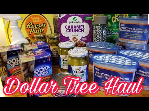 DOLLAR TREE HAUL 67 CENT POP TARTS 50 CENT CEREAL