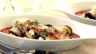 Kin Eats Preview Eggplant Roulade Recipe || KIN EATS
