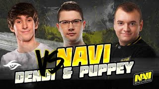 NAVI DOTA2 VS DENDI AND PUPPEY
