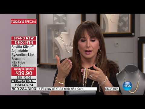HSN | Sevilla Silver with Technibond Jewelry 01.19.2017 - 12 PM