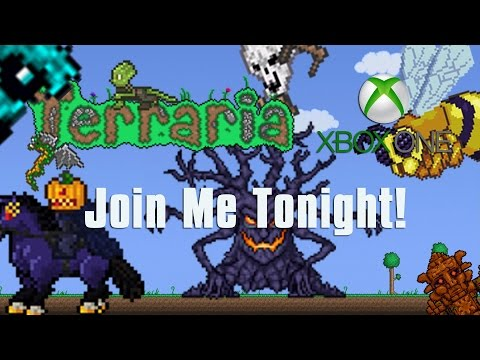 Terraria Xbox One Let's Play - Join me SUNDAY 6-7 pm UK time!!! [49.5] [Event Over]