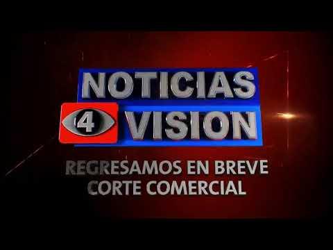 Noticias 4 Visión 9 pm... En vivo