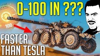 Faster Than TESLA ROADSTER • EBR 105 ► World of Tanks Panhard EBR 105 Gameplay - Patch 1.4 Update