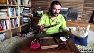Как правильно разламывать пуэр в блинах