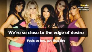 The Saturdays - All Fired Up (instrumental - Karaoke Version)