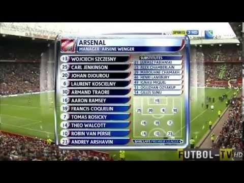 Manchester United 8 Arsenal 2 Amazing Win 28 08 11 Youtube
