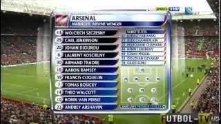 Manchester United 8 Arsenal 2 Amazing Win 28-08-11