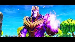 Thanos Infinity Gauntlet Challenge in Fortnite