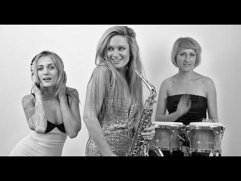 All female DJ, Sax & Percussionist trio   Cosmic Beats
