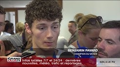 Benjamin Pavard de retour dans le Nord, à Jeumont !