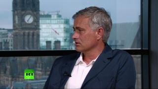 Спецэфир RT с Жозе Моуринью: матч Хорватия — Англия
