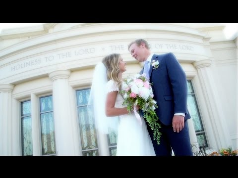 Utah Wedding Video      Alyssa & Mitch - Payson Utah Temple Wedding Highlight Film
