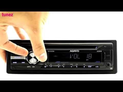OEM Standard Single-DIN Car DVD Player USB SD MP3 Stereo Head Unit Radio Universal Fitting