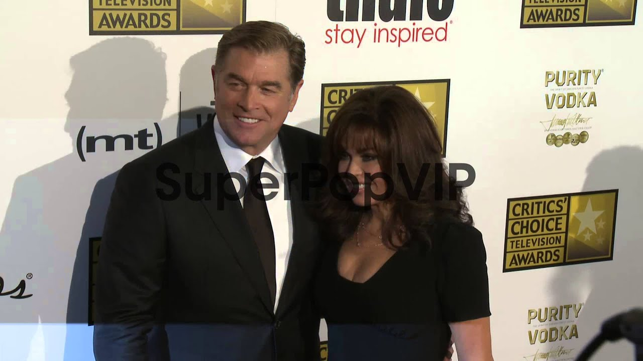 Marie Osmond Steve Craig At Broadcast Television Journal