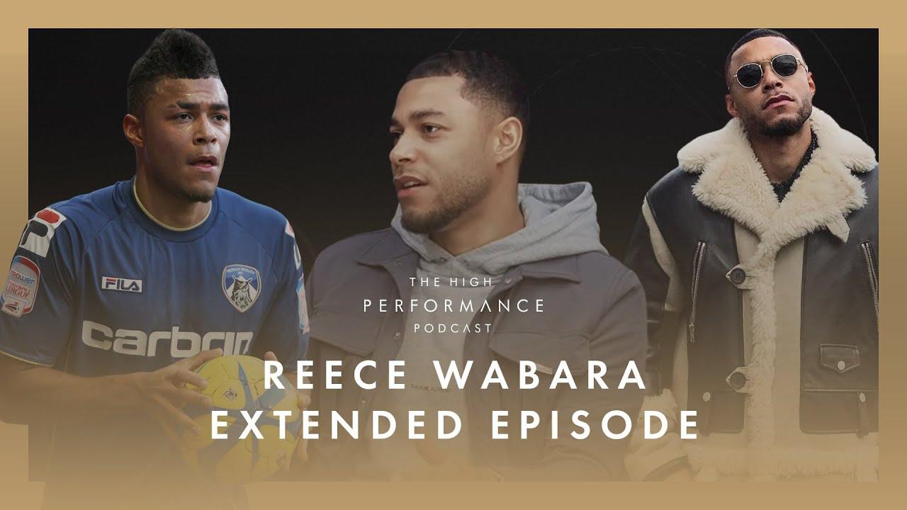 Ex-Man City Reece Wabara on Leaving Football & Starting £mill Clothing Empire | High Performance Pod