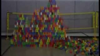 Santa Rita Elementary: Reverse Cup Pyramid - November 09