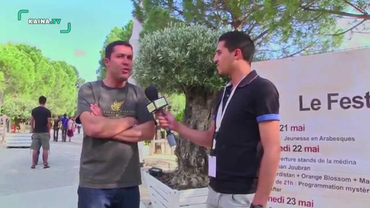 Arabesques 2015 à Montpellier, Habib Dechraoui organisateur