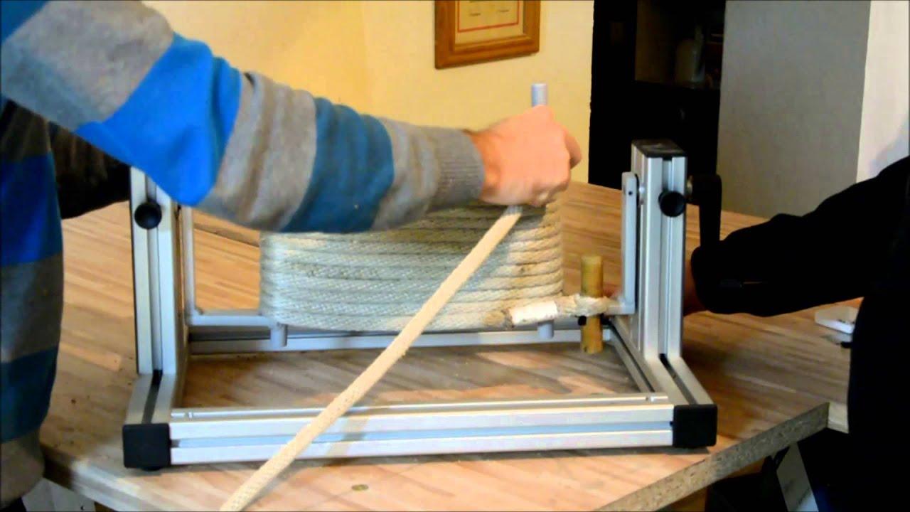 wickelvorrichtung f r feuerwehrleinen youtube. Black Bedroom Furniture Sets. Home Design Ideas