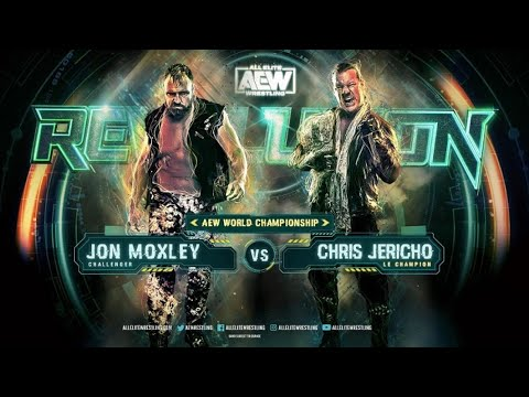 Chris Jericho Vs. Jon Moxley: Match Trailer (AEW Revolution)