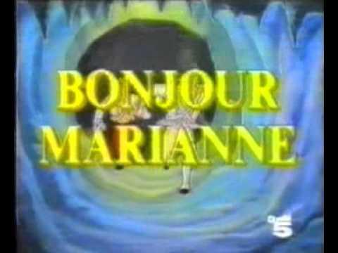 Cristina D'Avena - Bonjour Marianne Canale 5