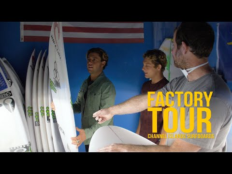 Take a Tour of Channel Islands' Carpinteria Surfboard Factory with Conner and Parker Coffin