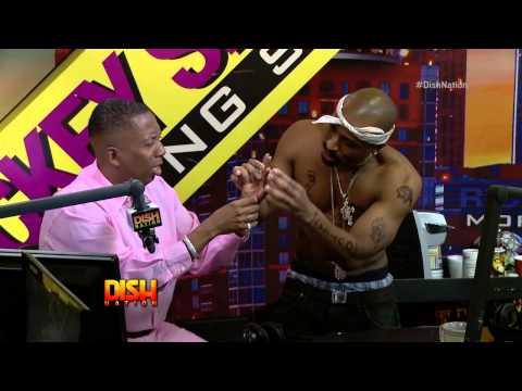 Tupac Teaches Gary With Da Tea Hand Signs!
