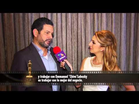 """""""Birdman"""" cowriter Alexander Dinelaris with Antonella Michelena"""