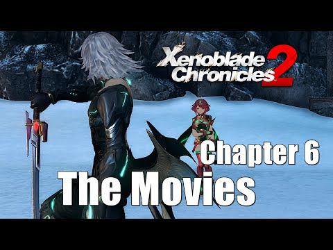 Xenoblade chronicles 2 All Cutscenes Main Story - Chapter 6 Wounds