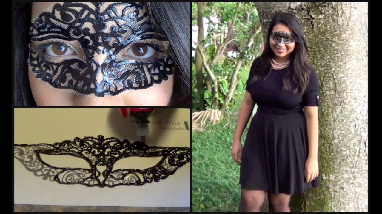 & DIY l Masquerade Mask u0026 Complete Costume - YouTube