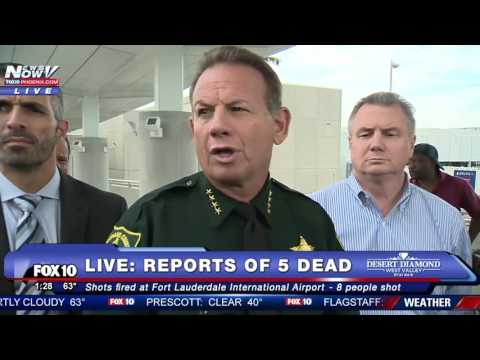 FORT LAUDERDALE SHOOTING: Sheriff and Airport Director Hold Press Conference - FNN