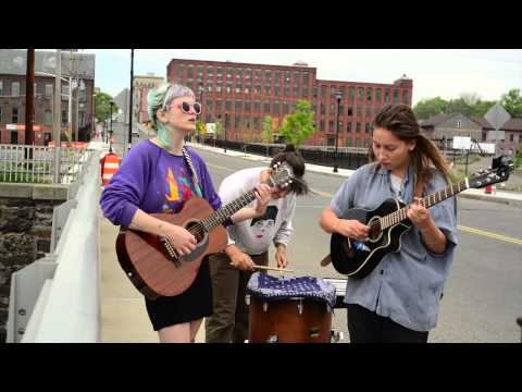 MassLive Street Music: And The Kids performs 'Gentle Mountain Landscape' on Dwight Street in Holyoke