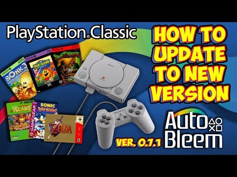 AutoBleem 0 7 1 PlayStation Classic Hack - How To Update Easily!