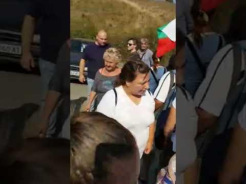 """Карнобатлии блокираха входа на града към """"Тракия"""""""