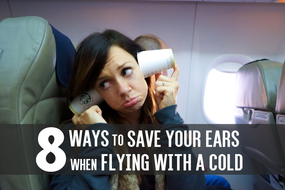 How to make your ears not pop on plane