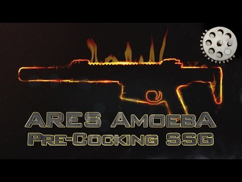 ENHANCE YOUR TRIGGER RESPONSE!!! ARES Amoeba EFCS PRE-COCKING on a Standard Sector Gear (SSG)