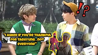 VHOPE : Tae Wants Hobi's Undivided Attention + Where Is The Flamingo Toy Now?