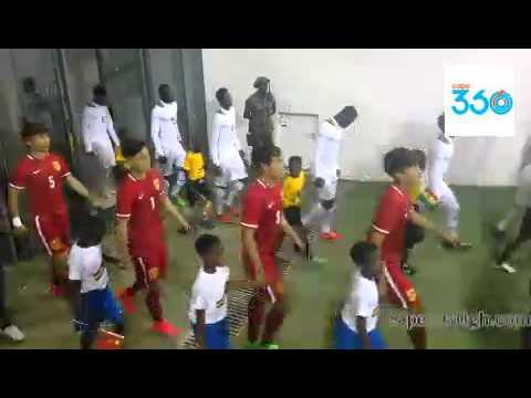 New Cape Coast Stadium Ghana Vrs China Entry
