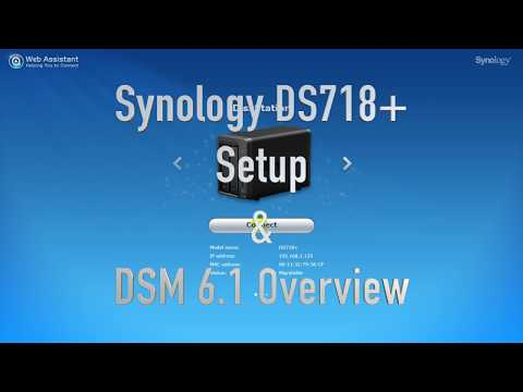 Synology DS718+ DSM 6.1 Overview & Multimedia Performance