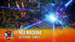 Nex Machina Gameplay - Level 1 (4K 60FPS)