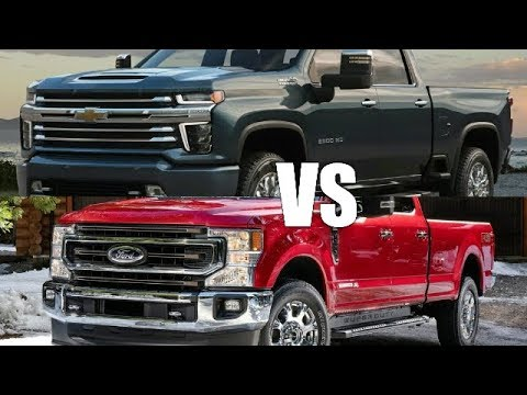 2020 Ford Super Duty VS 2020 Chevy Silverado HD