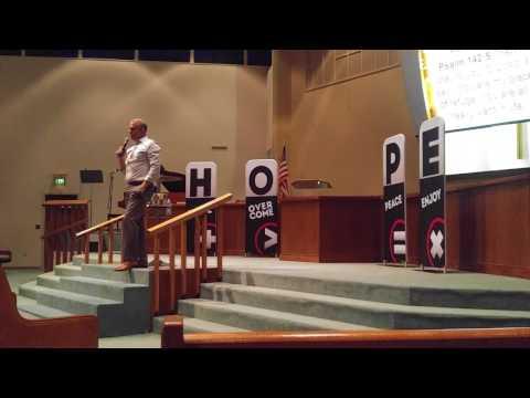 Pastor Roger Hernandez preaching on Hope Wins pt. 2 on 7-29-17