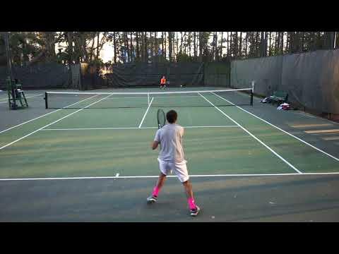 Daniel Diaz (LTU) vs Taylor Graalman (Milligan) Singles #1