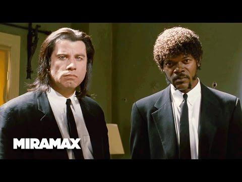 Pulp Fiction | 'A Miracle' (HD) - John Travolta, Samuel L. Jackson | MIRAMAX