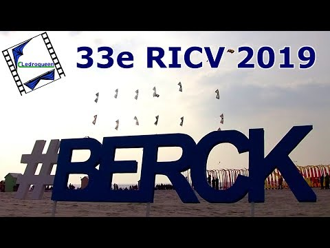 33e Rencontres Internationales de Cerfs-Volants de Berck sur Mer 2019