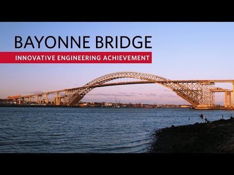 Raising the Bayonne Bridge