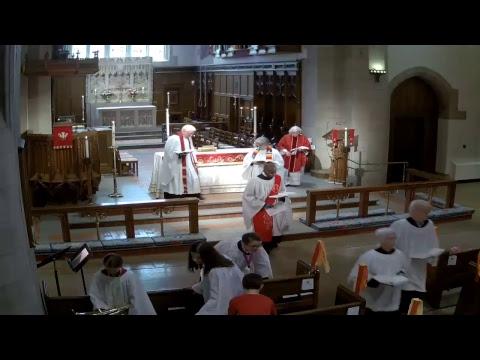 May 20, 2018: Sunday Service at St. John's Episcopal Church, West Hartford