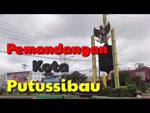 Pemandangan Kota Putussibau /#kota Putussibau 2020 /#viral Kota Putussibau